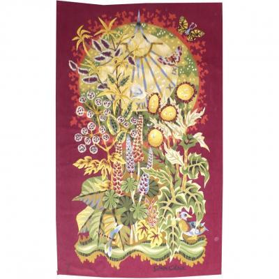 Simon Chaye - Sundial - Aubusson Tapestry