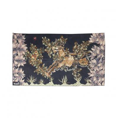 Jean Lurçat-belzébuth-aubusson Tapestry