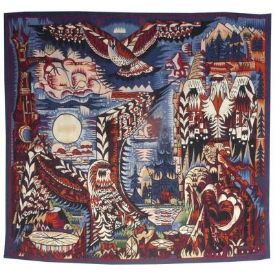 Marcel Gromaire-birds Of Prey-aubusson Tapestry