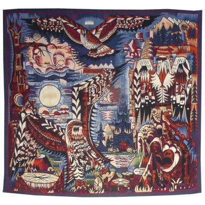 Marcel Gromaire-oiseaux De Proie-tapisserie d'Aubusson