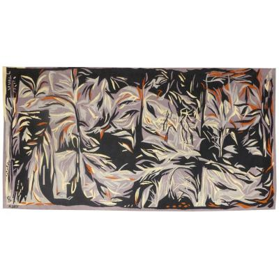 Monique Brix- Gray Dream- Aubusson Tapestry