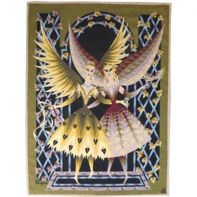 Claude Bleynie-tapisserie d'Aubusson