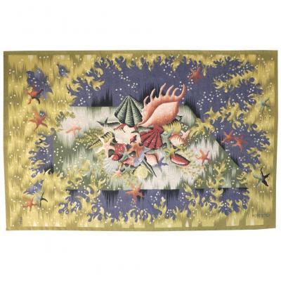 Jean Picart Le Doux-les Petites Algues-tapisserie d'Aubusson