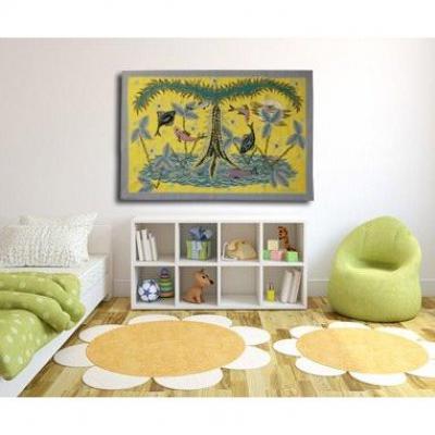 Pierre De Berroeta- Tropiques-tapisserie d'Aubusson