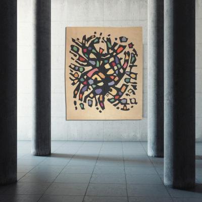 Alfred Manessier-  Tapis De Sol/tapisserie