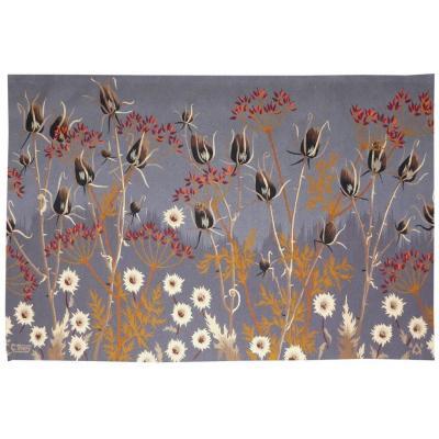 Gaston Thiery- Jardin Sauvage-tapisserie d'Aubusson