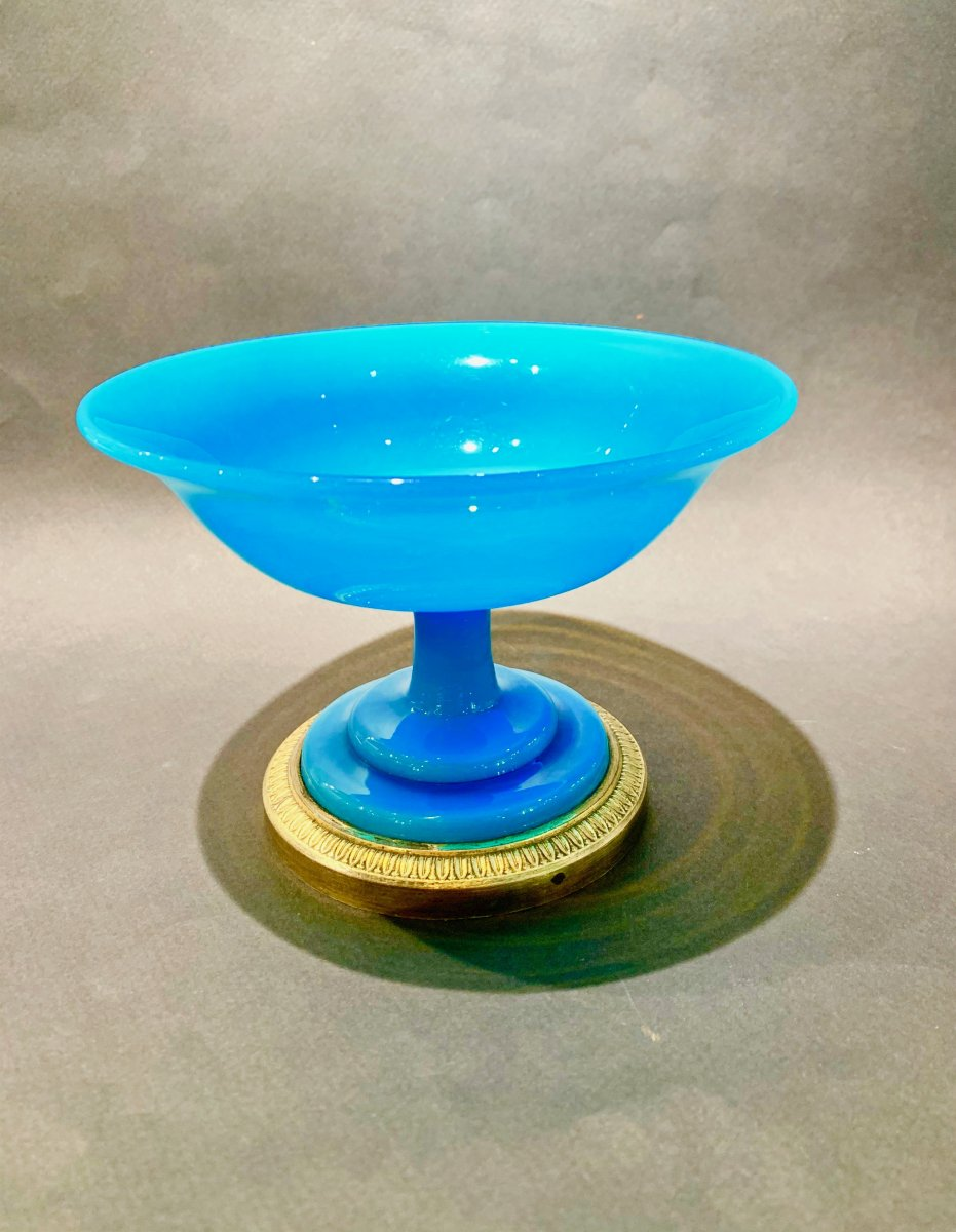 Turquoise Opal Crystal Baguier Cup