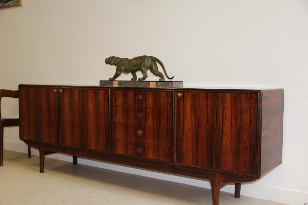 enfilade palissandre de rio meubles tv paris 1960 buffets enfilades. Black Bedroom Furniture Sets. Home Design Ideas