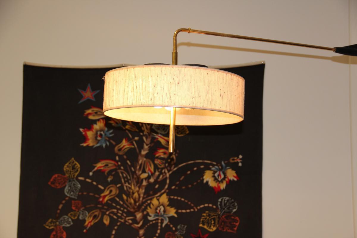 applique orientable a hauteur reglable potence annees 1950 appliques. Black Bedroom Furniture Sets. Home Design Ideas
