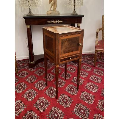 Bedside Table Italian Work Louis XVI XVIIIth