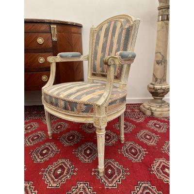 Louis XVI Period Armchair Delaunay 18th Century
