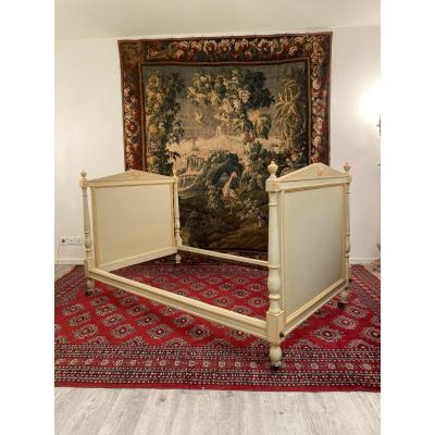 Bed In Lacquered Wood From Directoire Period XVIIIth Century