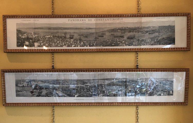 Heliogravures  Panorama Of Constantinople XIXth Century 1873