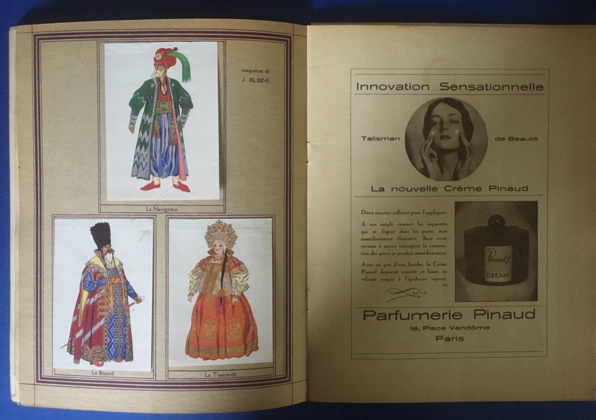 """Programme de """"TZAR SALTAN"""" par l'Opera Privée de Paris 1929-photo-3"""