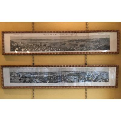 HelioGravures Panorama De Constantinople- 1873