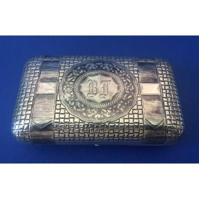 Russian Sterling Silver Box Nineteen Century
