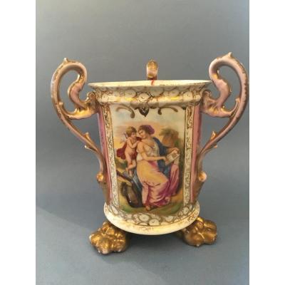 Rafraichissoir Porcelain XIX Ieme - Samson 1820