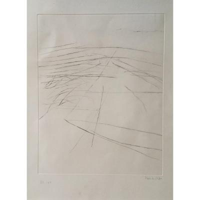 Vera Da Silva .... Dry Point Signed And Numbered 23/60