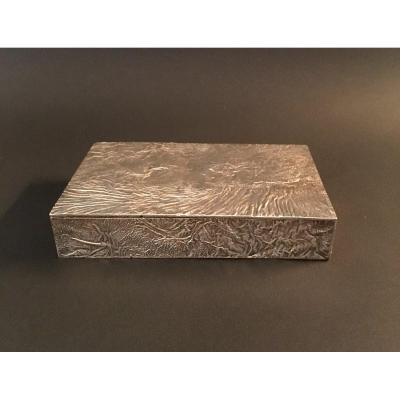 Boite Signée Tiffany En Argent Ancienne Collection Sir John Gielgud