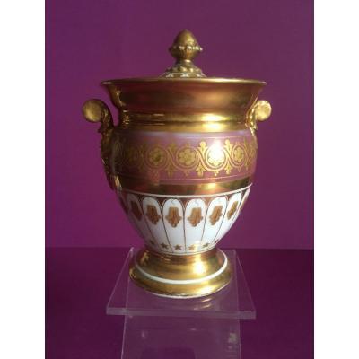 Sucrier Porcelaine Période Empire
