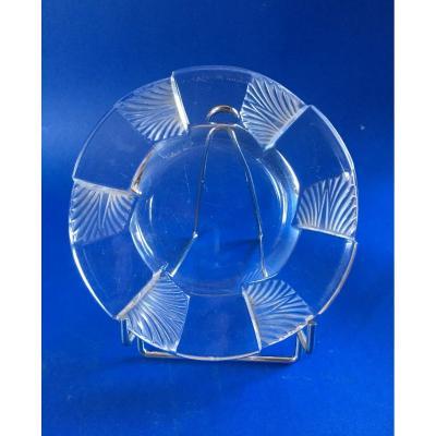 Cendrier Signé  Lalique France