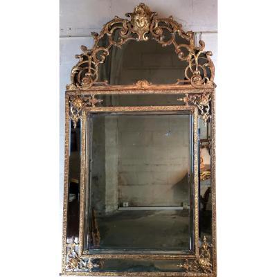 Miroir D'époque Louis XIV, Vers 1700-1715