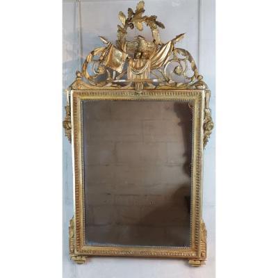 Miroir Néoclassique D'époque Louis XVI Vers 1781.