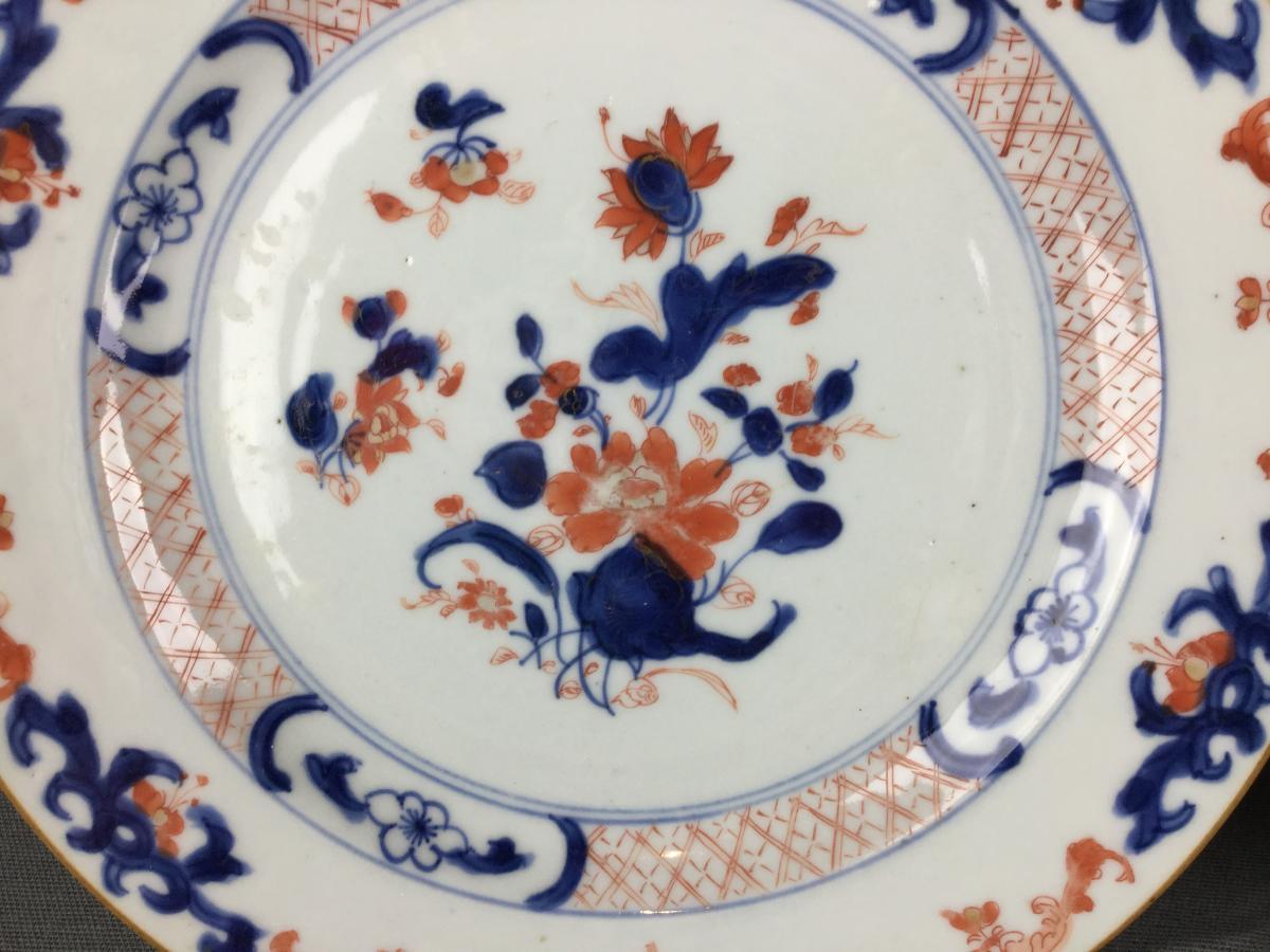 Porcelaine Chine Imari Compagnie Des Indes Orientales XVIIIe Siècle.-photo-6