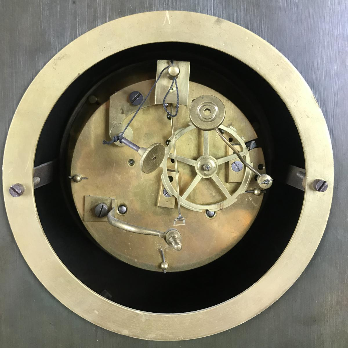 Grande Pendule d'époque Charles X, Zeus Dieu De l'Olympe Vers 1820.-photo-8