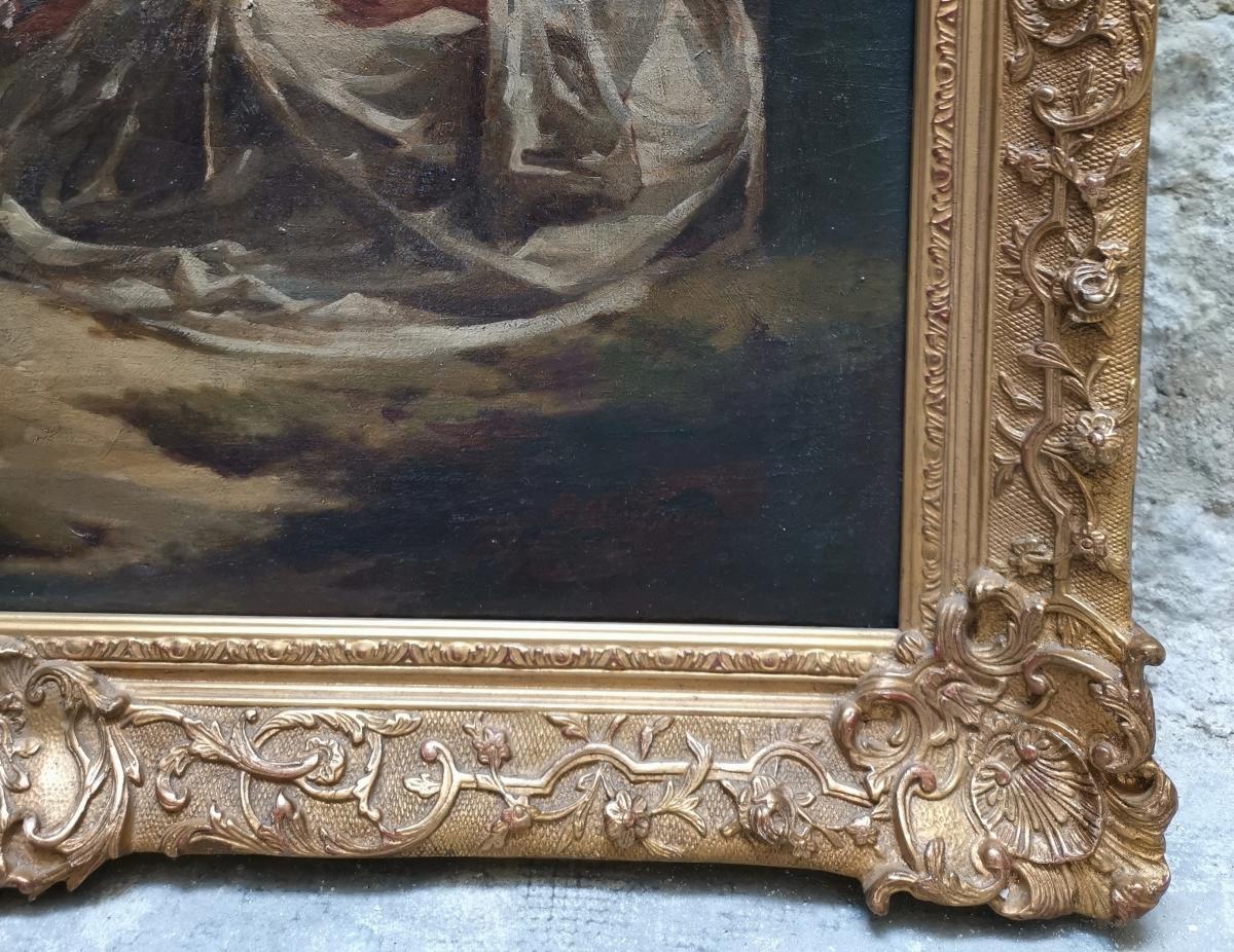 La Sérénade D'après Jean-antoine Watteau-photo-4