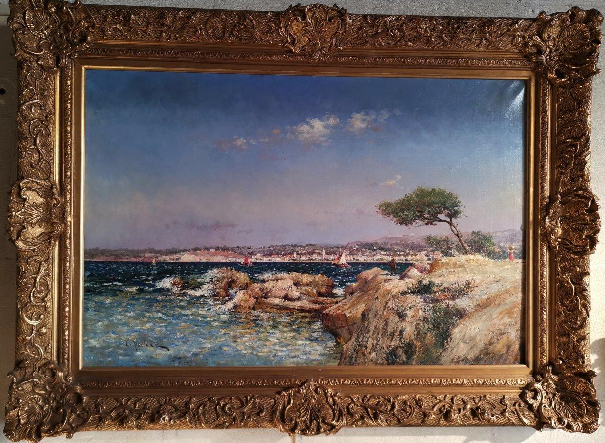 Bord De Méditerranée Marseille - Louis Nattero (1870-1915)