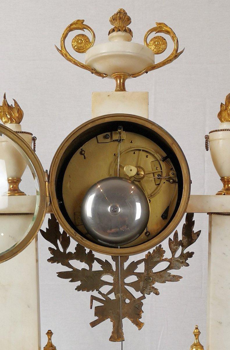 Pendule Portique D'époque Louis XVI Vers 1780-photo-1