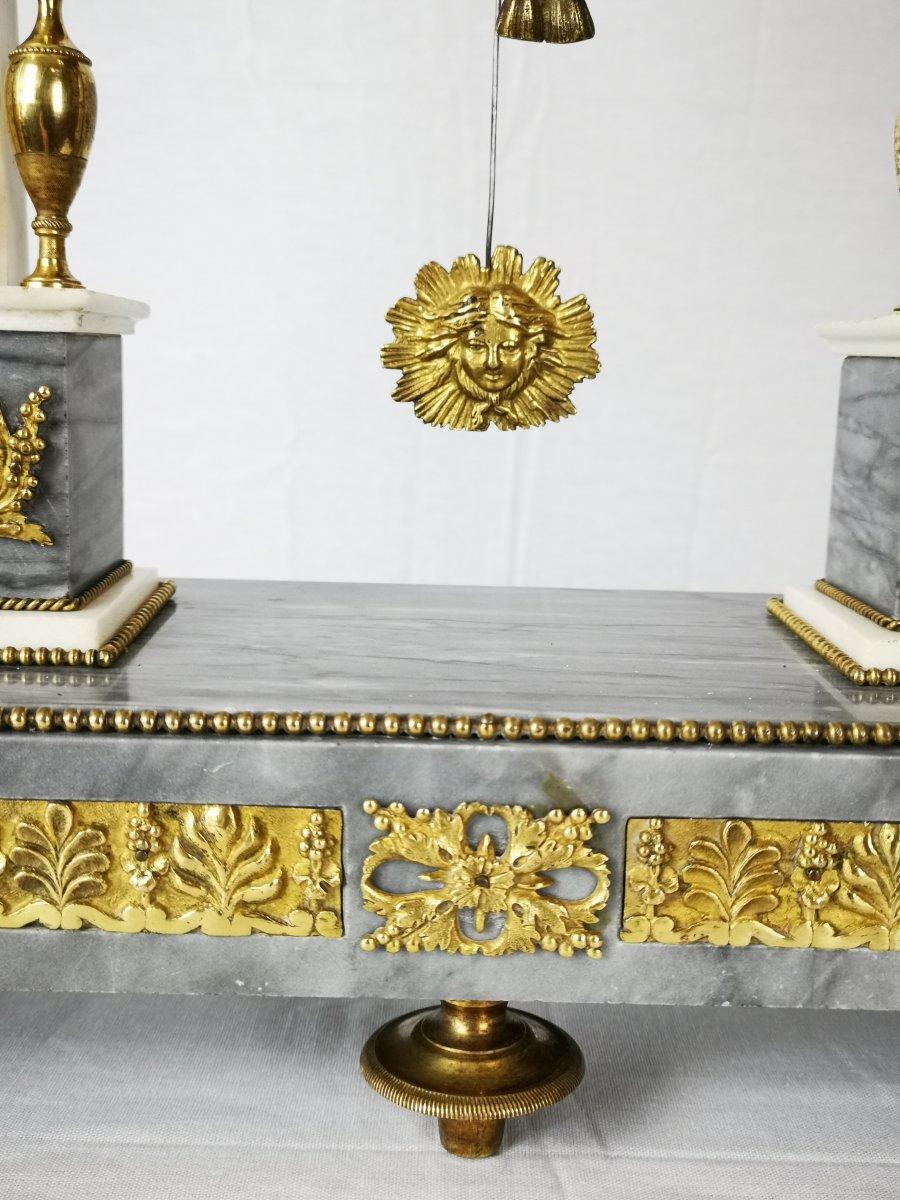 Pendule Portique D'époque Louis XVI Vers 1780-photo-5
