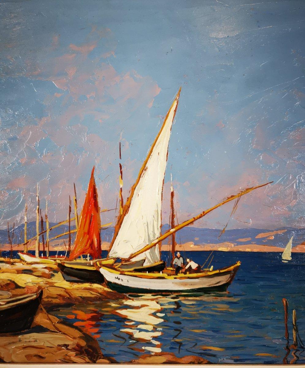 Gustave Vidal - Maison de pêcheurs étang de Biguglia Corse.-photo-4