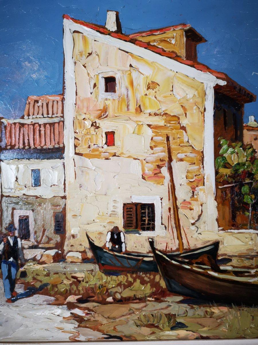 Gustave Vidal - Maison de pêcheurs étang de Biguglia Corse.-photo-6
