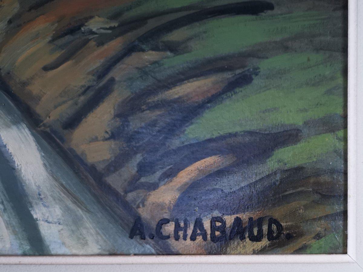 Auguste Chabaud 1882 - 1955 - Le Chemin Du Mas.