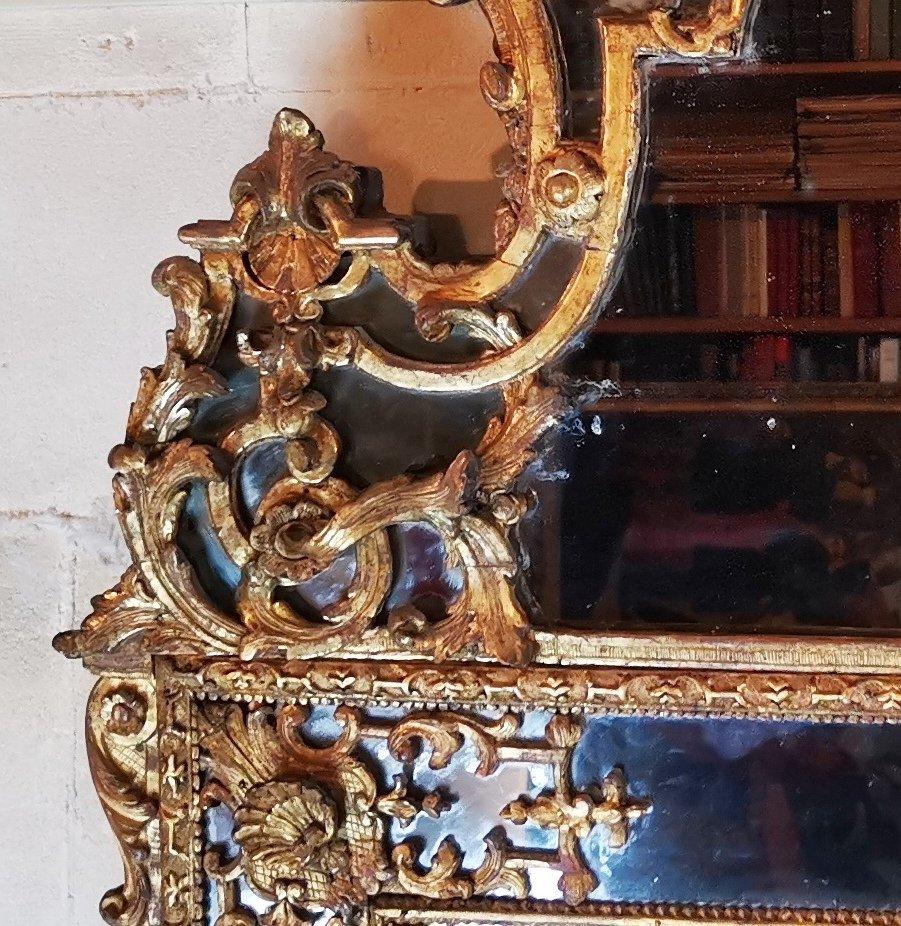 Miroir Régence, Début Du XVIIIe Siècle, 1710 - 1720.-photo-4