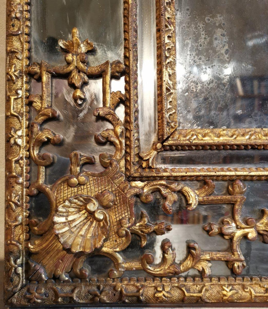 Miroir Régence, Début Du XVIIIe Siècle, 1710 - 1720.-photo-1