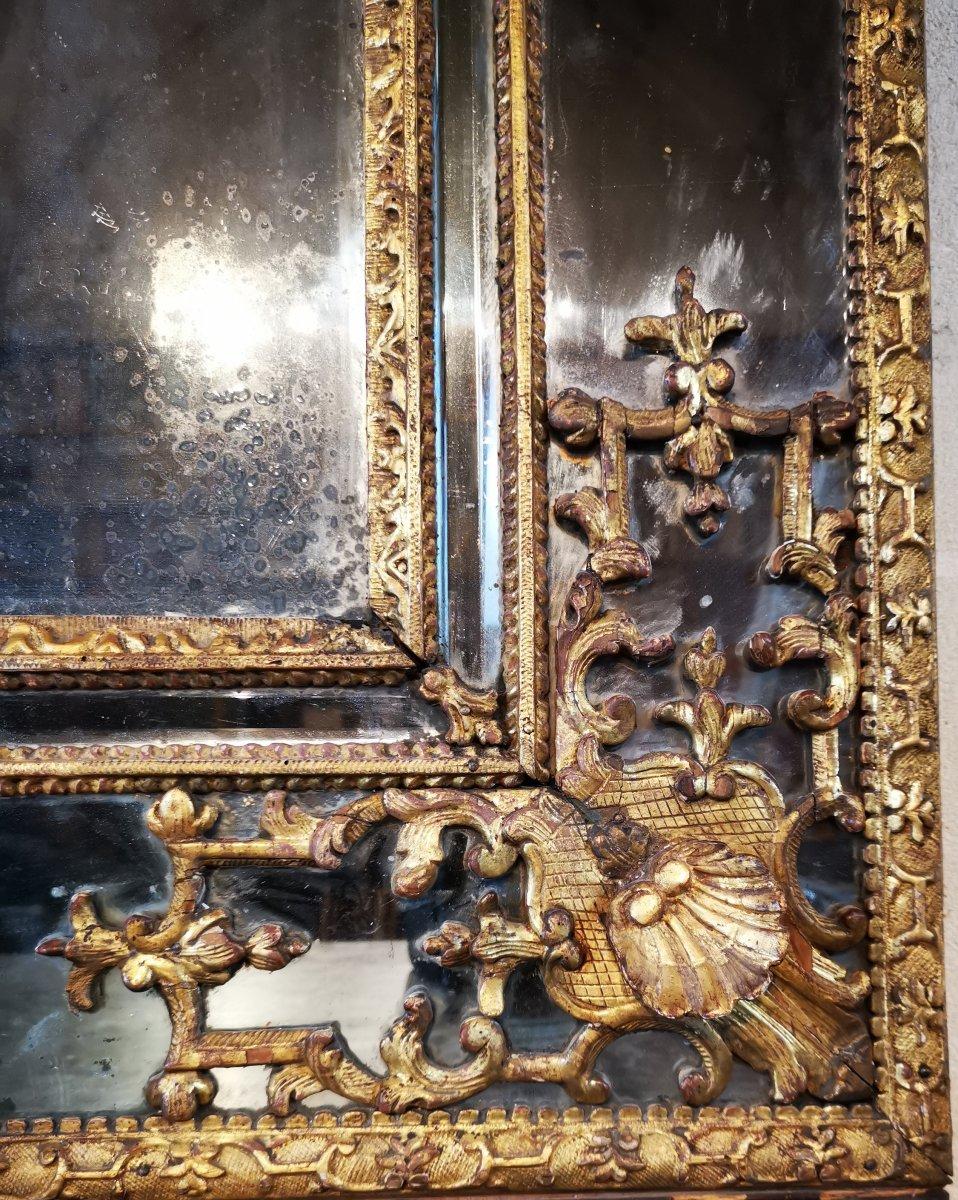 Miroir Régence, Début Du XVIIIe Siècle, 1710 - 1720.-photo-2