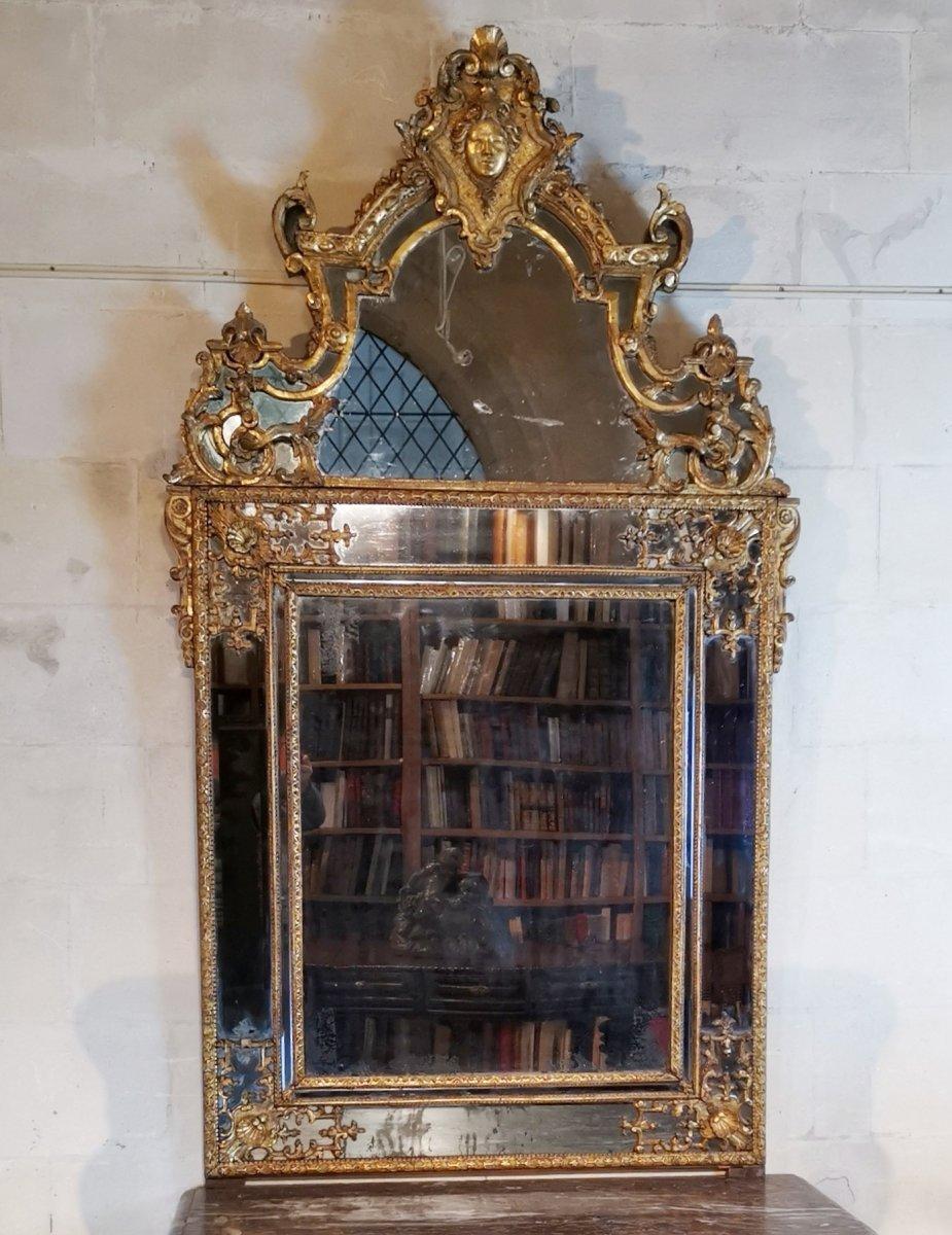Miroir Régence, Début Du XVIIIe Siècle, 1710 - 1720.