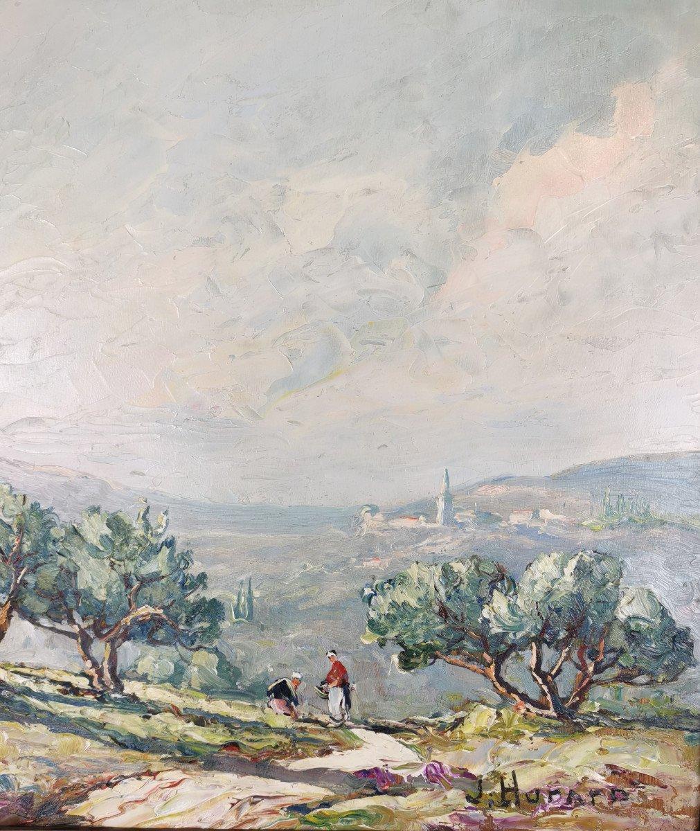 Joseph Hurard 1887-1956  Le Prieuré de Ste Victoire Notre Dame de Rochefort à Rochefort du Gard-photo-2
