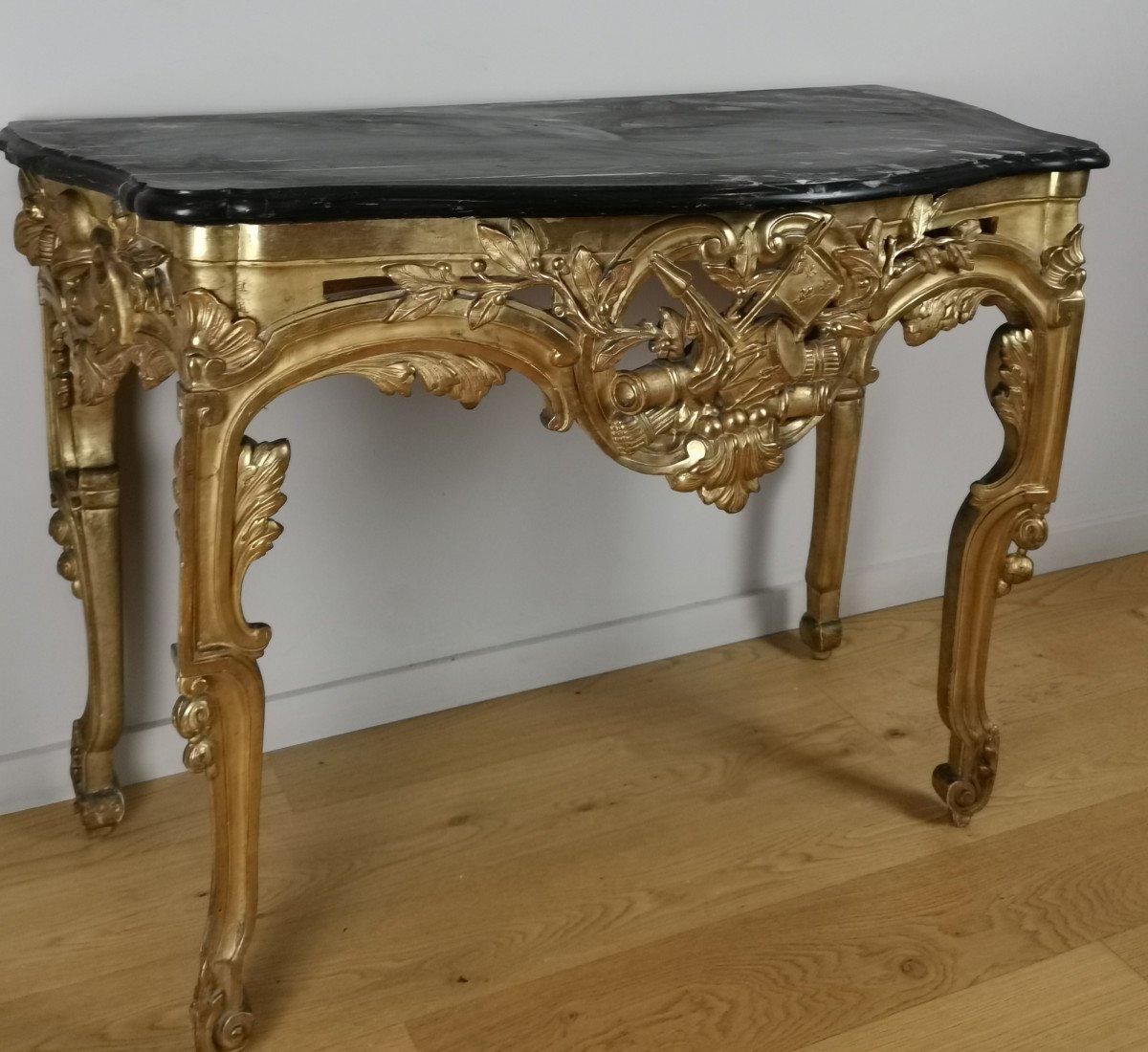 Console à La Grecque-néoclassique D'époque Louis XVI Vers 1781.