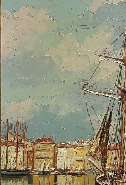 Le vieux Port de Marseille - Gustave Vidal, 1895-1966-photo-4