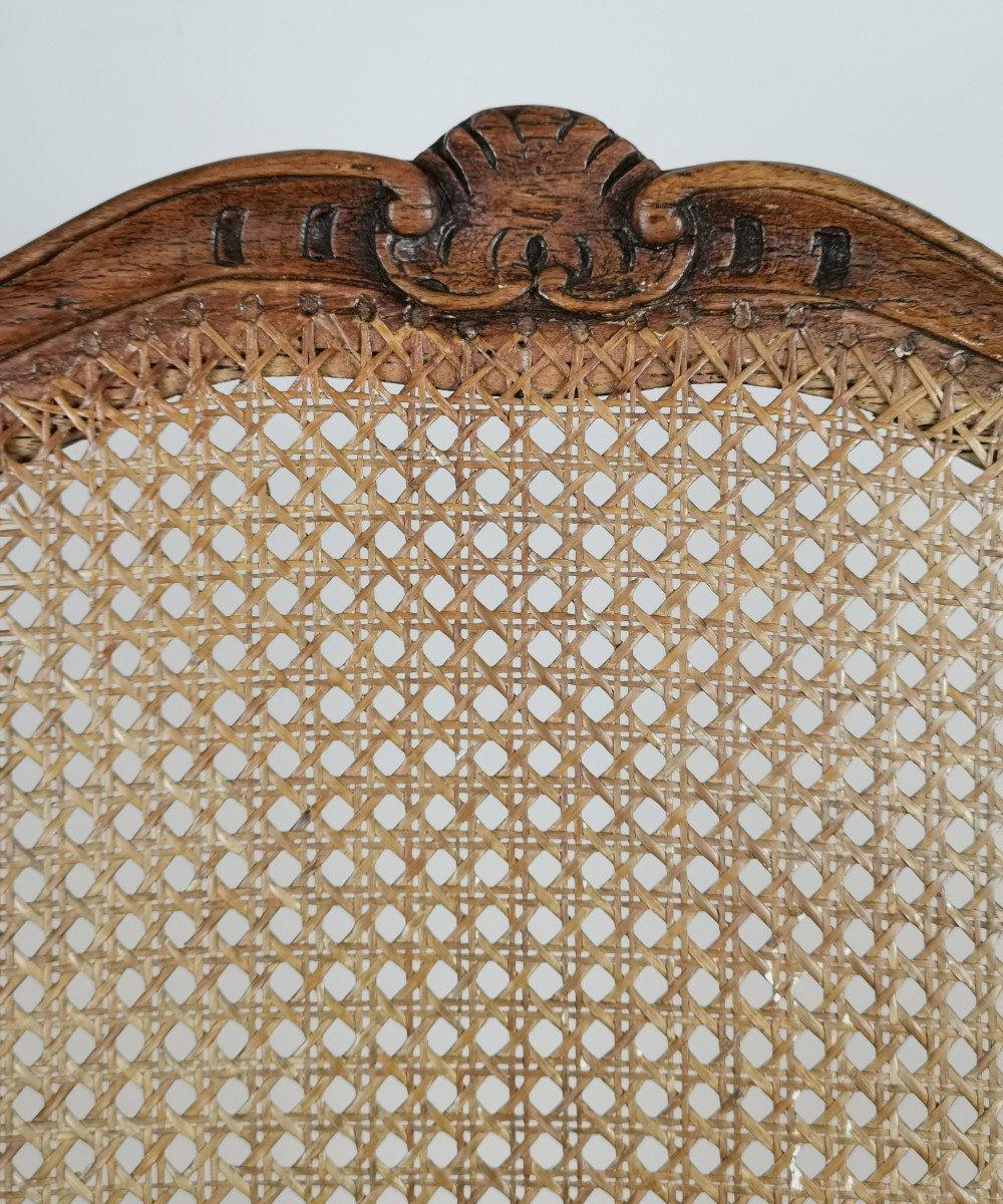 Fauteuil à Fond De Canne d'époque Louis XV.-photo-5