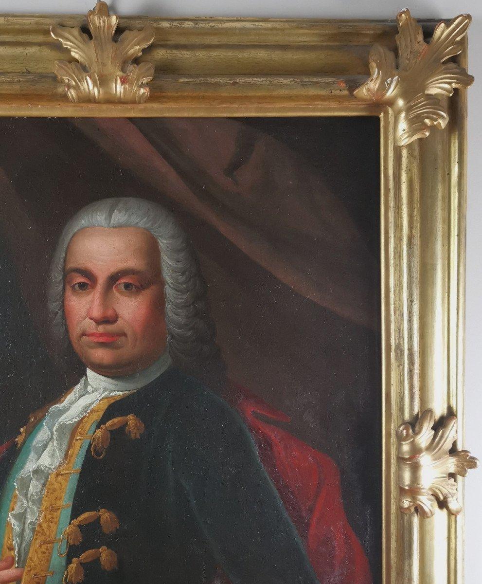Don Franco Billo-tta - Portrait d'Un Noble Magistrat Pavesan, Lombardie XVIIIe Siècle-photo-4