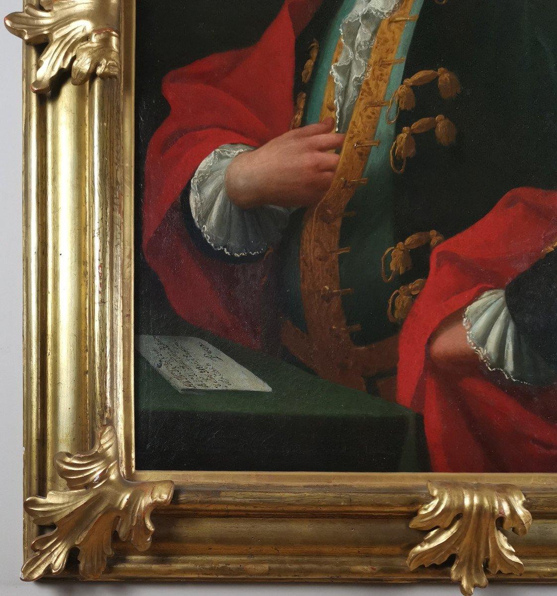 Don Franco Billo-tta - Portrait d'Un Noble Magistrat Pavesan, Lombardie XVIIIe Siècle-photo-1