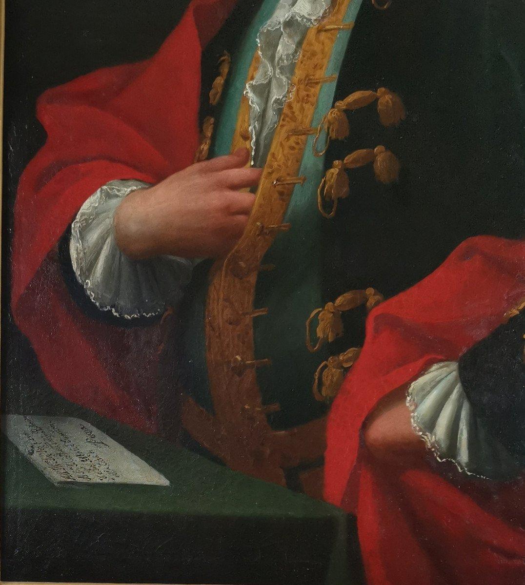 Don Franco Billo-tta - Portrait d'Un Noble Magistrat Pavesan, Lombardie XVIIIe Siècle-photo-5