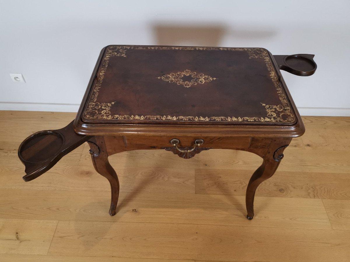 Table Lyonnaise D'époque Régence, Vers 1720.-photo-3