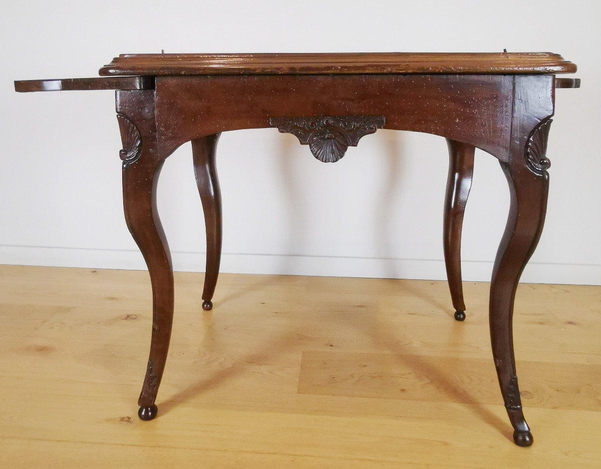 Table Lyonnaise D'époque Régence, Vers 1720.-photo-5