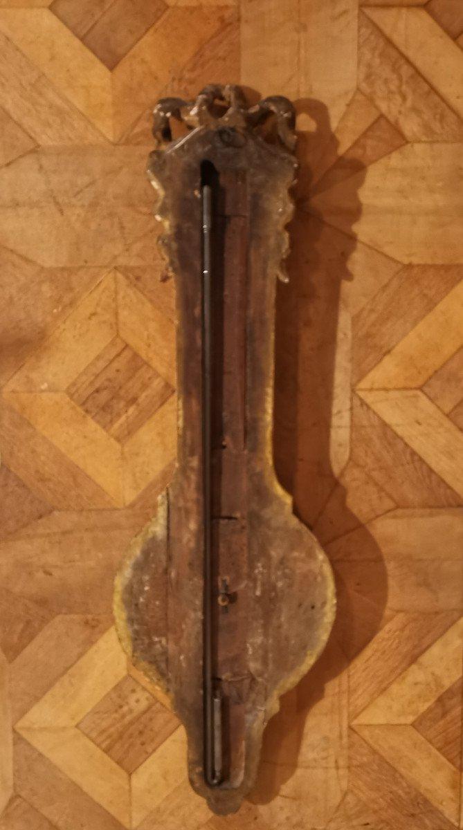 Baromètre Néoclassique D'époque Louis XVI, XVIIIe Siècle.-photo-4